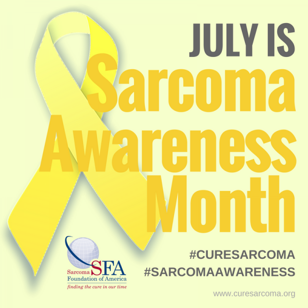 sarcoma cancer research awareness month sarcoma foundation of america