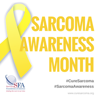 Sarcoma Awareness Month (white) thumbnail